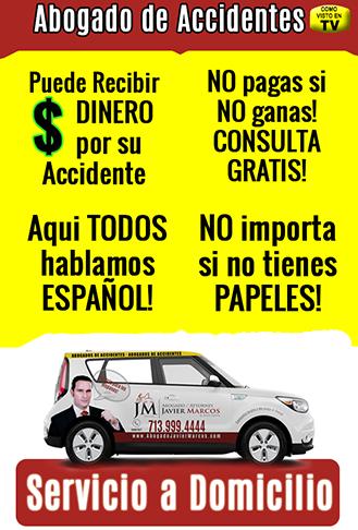 Abogado de Accidente de Carro   Abogado Javier Marcos